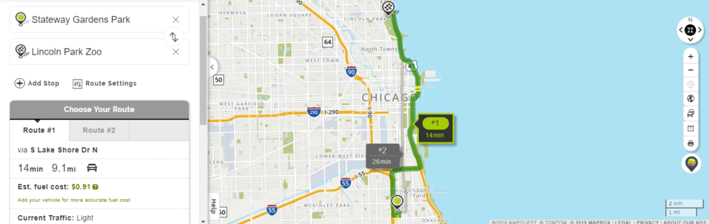 Mapquest Gas Calculator