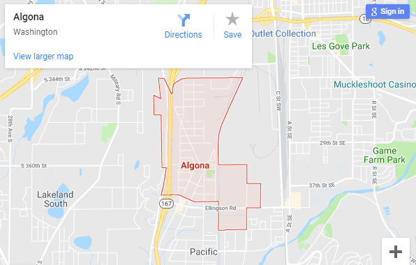 Maps of Algona