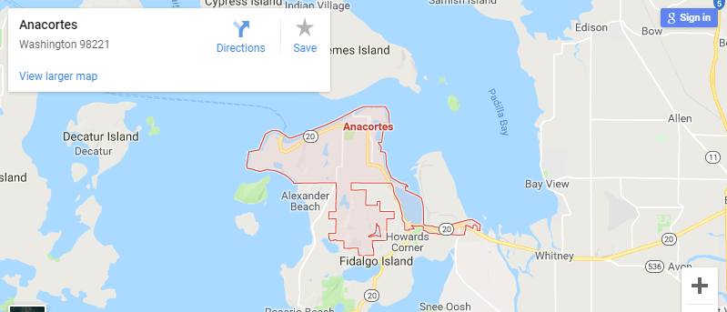 Maps of Anacortes