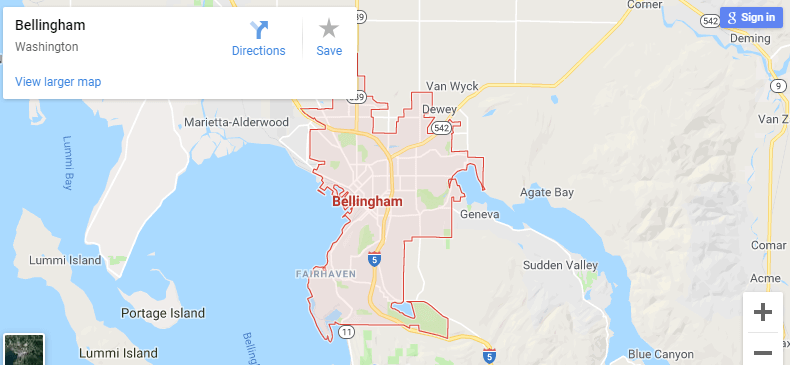 Maps of Bellingham