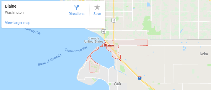 Maps of Blaine