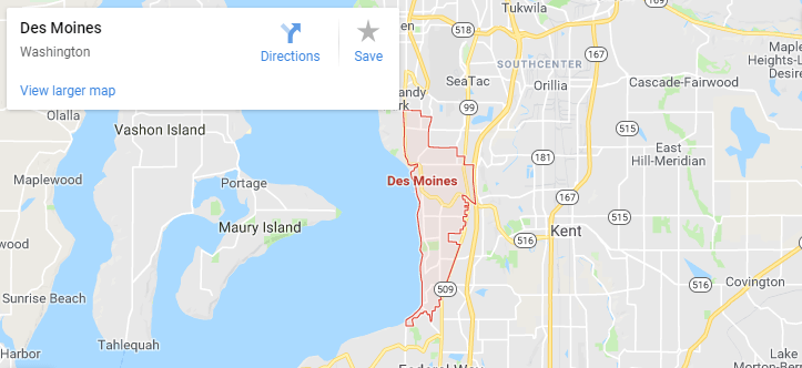 Maps of Des Moines, mapquest, google, yahoo, driving directions