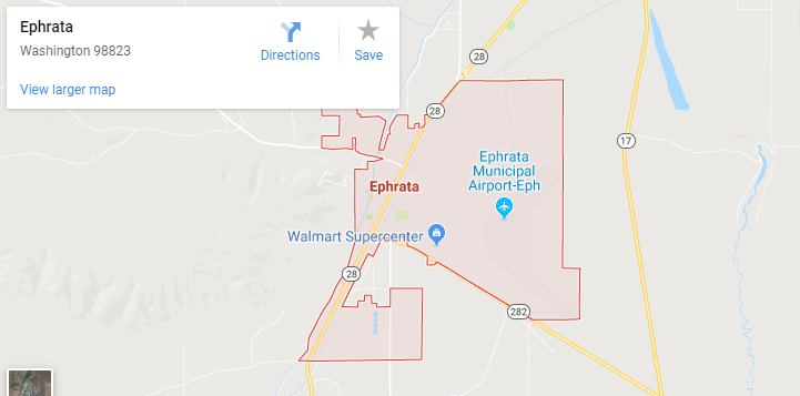 Maps of Ephrata, mapquest, google, yahoo, driving directions