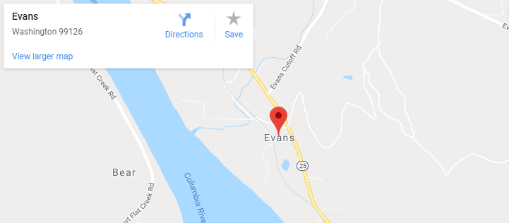 Maps of Evans, mapquest, google, yahoo, driving directions
