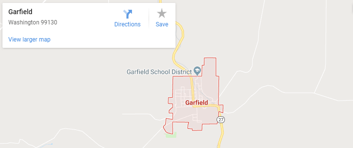 Maps of Garfield, mapquest, google, yahoo, driving directions
