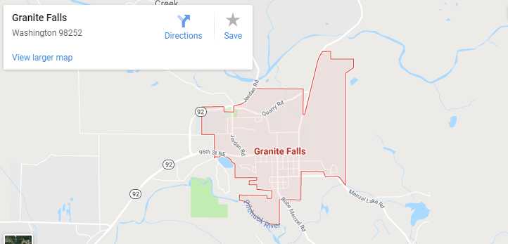 Maps of Granite Falls, Mapquest, Google, Yahoo, Driving directions