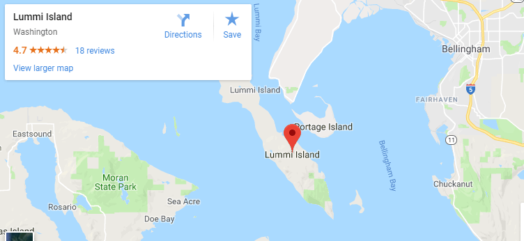Maps of Lummi Island, mapquest, google, yahoo, driving directions