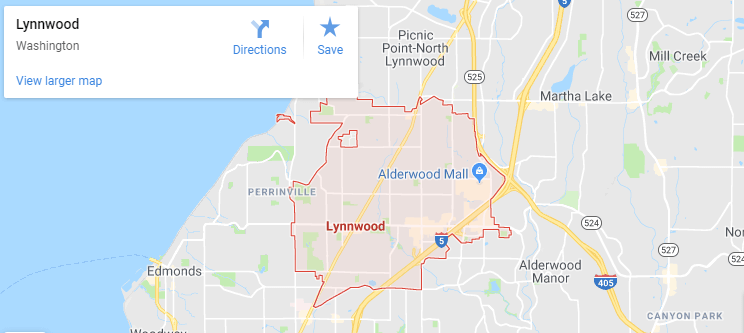 Maps of Lynnwood, mapquest, google, yahoo, driving directions