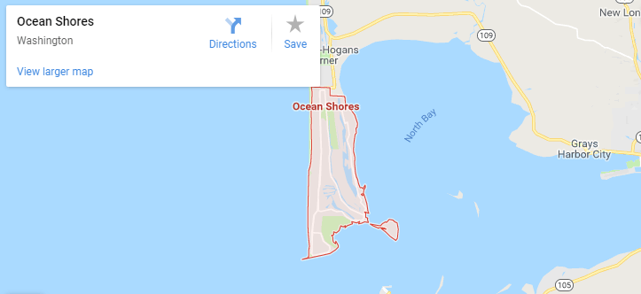 Maps of Ocean Shores, mapquest, google, yahoo, bing, driving directions