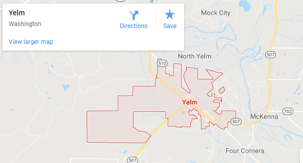 Maps of Yelm, mapquest, google, yahoo, driving directions