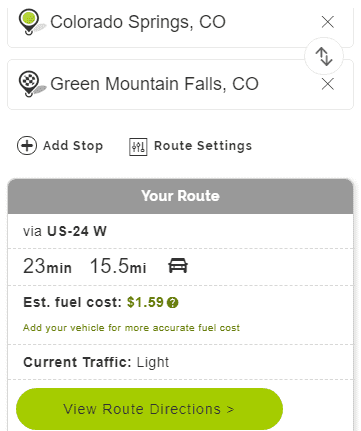 Mapquest Mileage – Driving Directions Maps and Traffic
