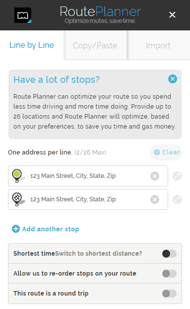 mapquest driving directions - route planner